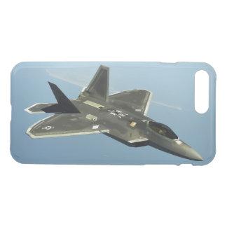 Capa iPhone 8 Plus/7 Plus Avião de combate F-22