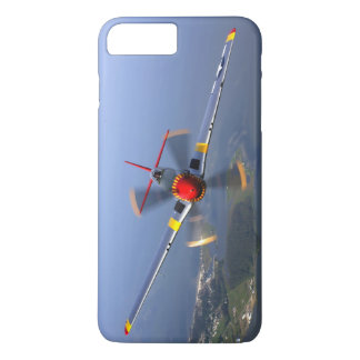 Capa iPhone 8 Plus/7 Plus Aviões de lutador do mustang P-51