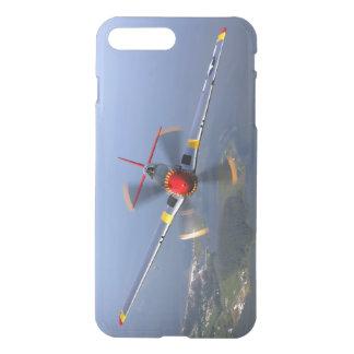 Capa iPhone 8 Plus/7 Plus Aviões de lutador do mustang P-51
