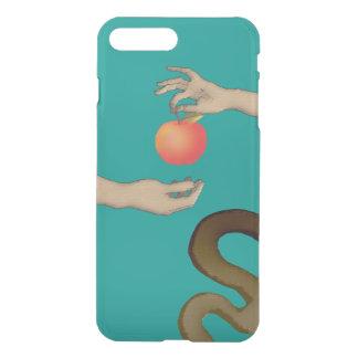 Capa iPhone 8 Plus/7 Plus Azul à moda simples proibido da véspera de Apple