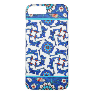 Capa iPhone 8 Plus/7 Plus azulejo do iznik