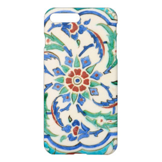 Capa iPhone 8 Plus/7 Plus azulejo do iznik do palácio de Topkapi