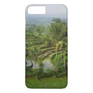 Capa iPhone 8 Plus/7 Plus Bali - ricefields e palmas novos do terraço