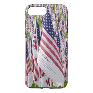 Capa iPhone 8 Plus/7 Plus Bandeira da honra