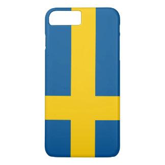 Capa iPhone 8 Plus/7 Plus Bandeira da suecia