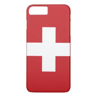 Capa iPhone 8 Plus/7 Plus Bandeira da suiça