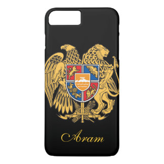 Capa iPhone 8 Plus/7 Plus Bandeira de Arménia