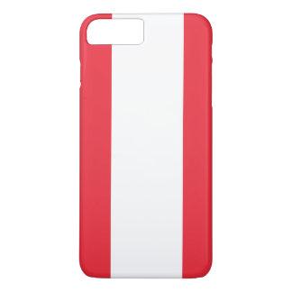Capa iPhone 8 Plus/7 Plus Bandeira de Áustria