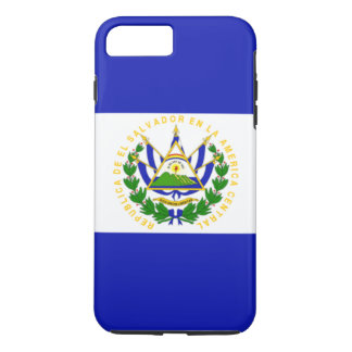 Capa iPhone 8 Plus/7 Plus Bandeira de El Salvador