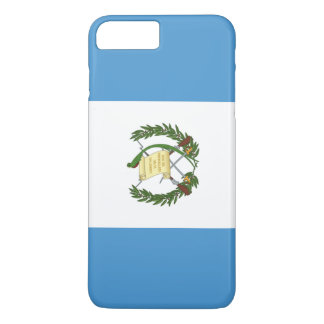 Capa iPhone 8 Plus/7 Plus Bandeira de Guatemala
