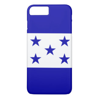 Capa iPhone 8 Plus/7 Plus Bandeira de Honduras