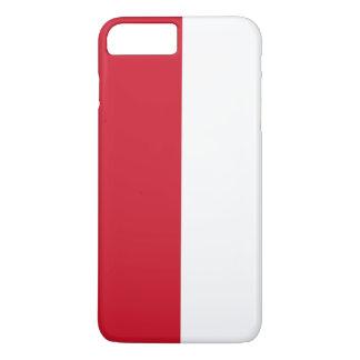Capa iPhone 8 Plus/7 Plus Bandeira de Indonésia