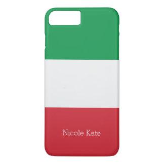 Capa iPhone 8 Plus/7 Plus Bandeira de Italia