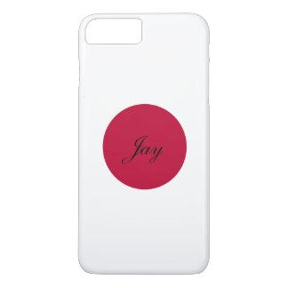 Capa iPhone 8 Plus/7 Plus Bandeira de Japão ou de Hinomaru