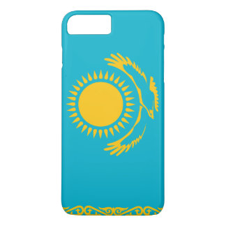 Capa iPhone 8 Plus/7 Plus Bandeira de Kazakhstan