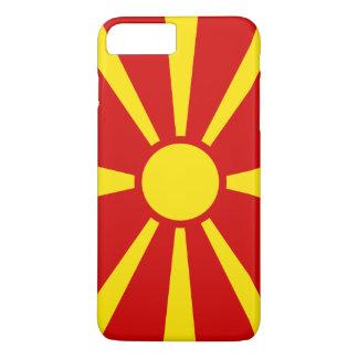 Capa iPhone 8 Plus/7 Plus Bandeira de Macedónia