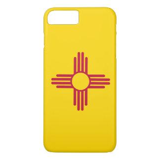 Capa iPhone 8 Plus/7 Plus Bandeira de New mexico