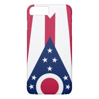 Capa iPhone 8 Plus/7 Plus Bandeira de Ohio