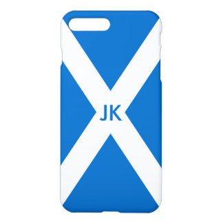 Capa iPhone 8 Plus/7 Plus Bandeira de Scotland ou de Saltire