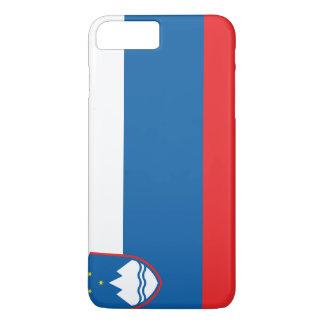 Capa iPhone 8 Plus/7 Plus Bandeira de Slovenia