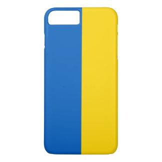 Capa iPhone 8 Plus/7 Plus Bandeira de Ucrânia