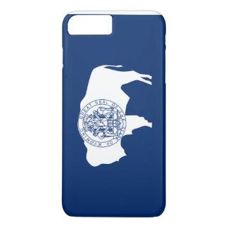 Capa iPhone 8 Plus/7 Plus Bandeira de Wyoming