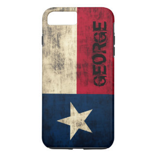 Capa iPhone 8 Plus/7 Plus Bandeira do Grunge do vintage de Personalzied de