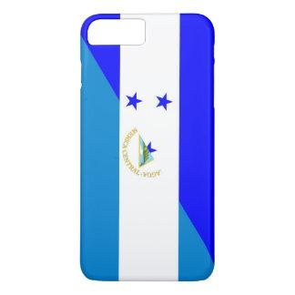 Capa iPhone 8 Plus/7 Plus bandeira do país de honduras Nicarágua meia
