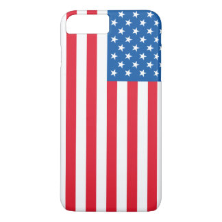 Capa iPhone 8 Plus/7 Plus Bandeira dos Estados Unidos da bandeira dos EUA