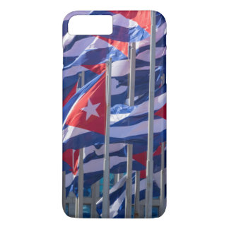 Capa iPhone 8 Plus/7 Plus Bandeiras cubanas, Havana, Cuba
