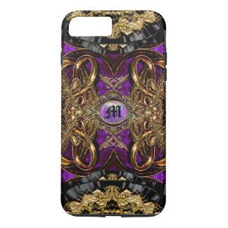 Capa iPhone 8 Plus/7 Plus Barroco bonito de Hauteleash Hampton Curtsey