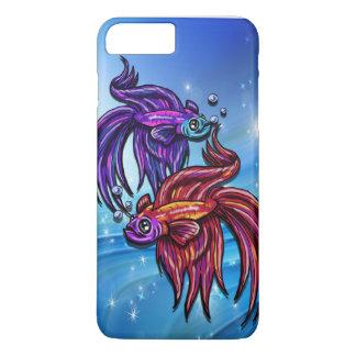Capa iPhone 8 Plus/7 Plus Bettas Mystical