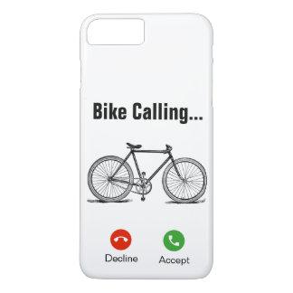 Capa iPhone 8 Plus/7 Plus Bicicleta chamar… iPhone 7+/8+Caso