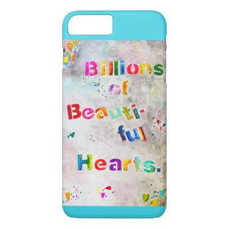 Capa iPhone 8 Plus/7 Plus Biliões de corações bonitos - iPhone