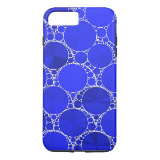 Capa iPhone 8 Plus/7 Plus Bling azul brilhante