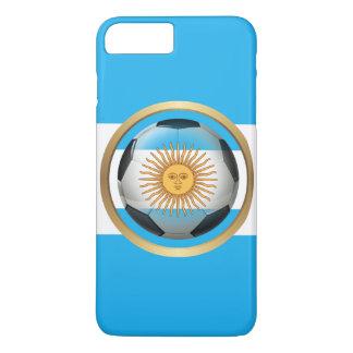 Capa iPhone 8 Plus/7 Plus Bola de futebol de Argentina