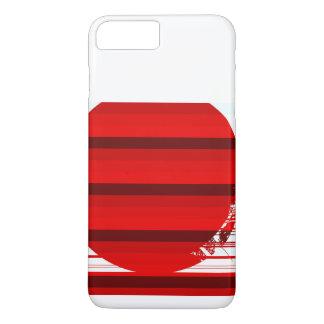 Capa iPhone 8 Plus/7 Plus bola vermelha