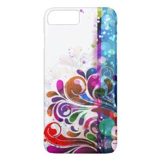 Capa iPhone 8 Plus/7 Plus Bolhas e redemoinhos abstratos