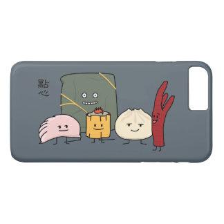 Capa iPhone 8 Plus/7 Plus Bolo chinês dos bolos da bolinha de massa de Bao