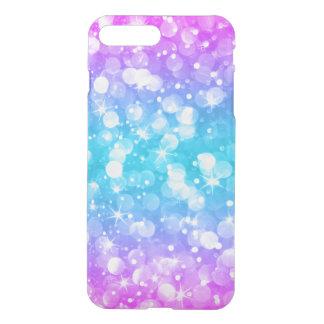 Capa iPhone 8 Plus/7 Plus Brilho Glam colorido de Bokeh