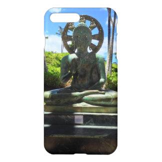 Capa iPhone 8 Plus/7 Plus Buddha assentado bronze, Waikoloa, Havaí