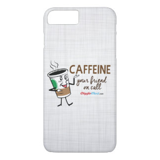 Capa iPhone 8 Plus/7 Plus Cafeína, seu amigo na chamada