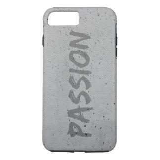 Capa iPhone 8 Plus/7 Plus Caixa cinzenta da paixão