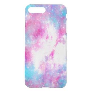 Capa iPhone 8 Plus/7 Plus Caixa cor-de-rosa da galáxia