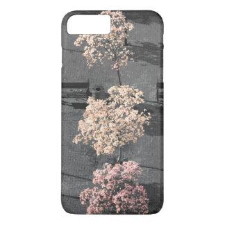 Capa iPhone 8 Plus/7 Plus caixa da flor de cerejeira do iPhone (4,5,6,7,8)