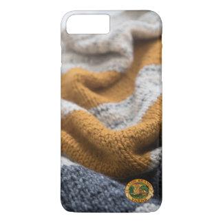Capa iPhone 8 Plus/7 Plus Caixa feita malha do telemóvel