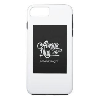 Capa iPhone 8 Plus/7 Plus Caixa positiva da tomada de IPhone 7 sempre