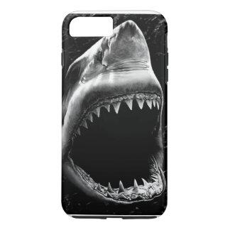 Capa iPhone 8 Plus/7 Plus Caixa preta do iPhone 7 do tubarão