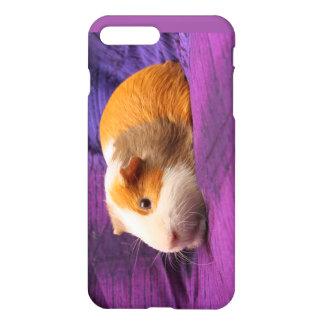 Capa iPhone 8 Plus/7 Plus Caixa roxa do telemóvel da cobaia