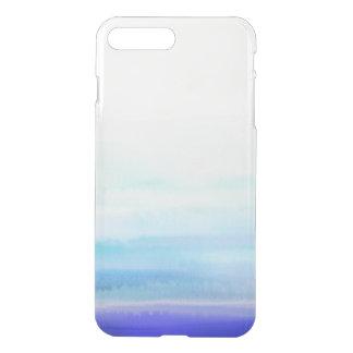 Capa iPhone 8 Plus/7 Plus Caixa semi transparente da aguarela